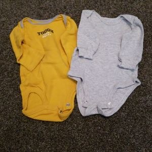 Long sleeve bodysuits(5 items for $15)
